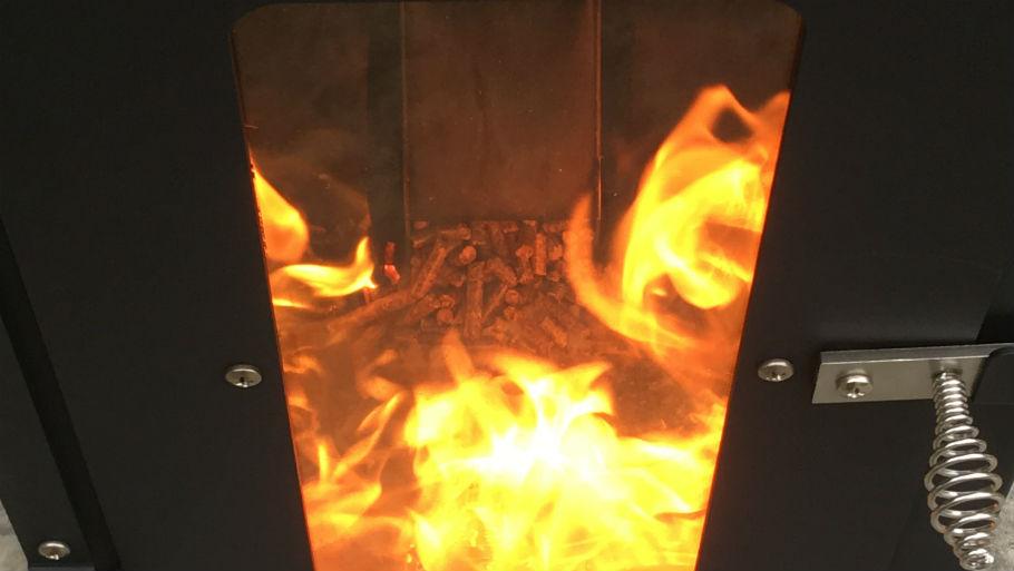 The Original Wood Pellet Patio Heater