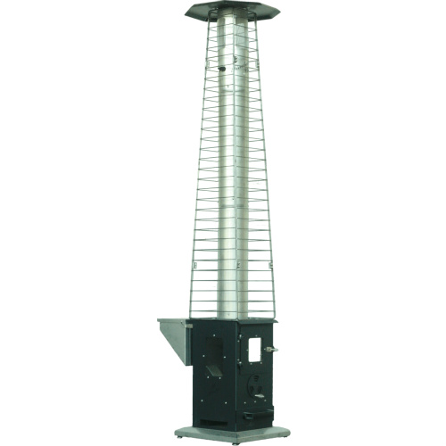 Stove pipe safety cage for wood pellet patio heater