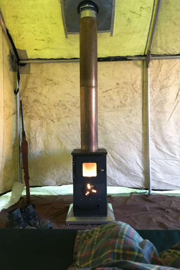 Portable Woodstove Folds Down Heats Up Tents Yurts Tiny Homes. Cylinder Stoves & Wood Burning Tent Stove - Yard and Tent Photos Ceciliadeval.Com