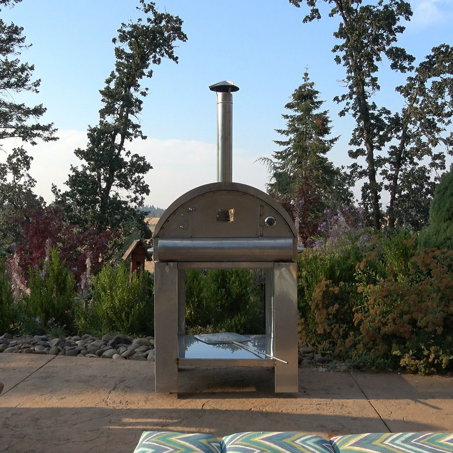 Outdoor Wood Pellet Patio Heater The Lil Timber